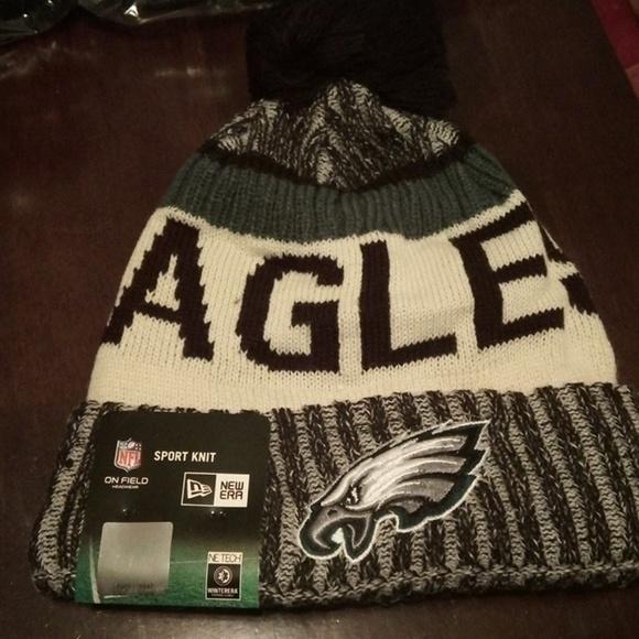 fdde052f4 Philadelphia Eagles New Era Sports Knit Beanie Cap NWT